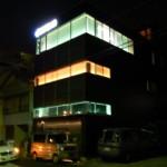 三親住設様 本社ライトアップ 3